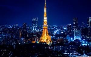 Токийская, как большая часть из нас постоянно говорит, телевизионная башня
